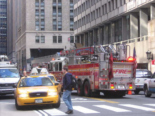 Drill at Grand Central Terminal
