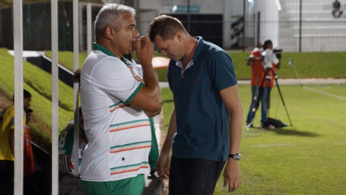 Cícero Ramalho e Isaías Raimundo - Baraúnas (Foto: Augusto Gomes)