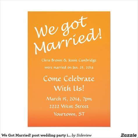 Best 25  Wedding reception invitation wording ideas on