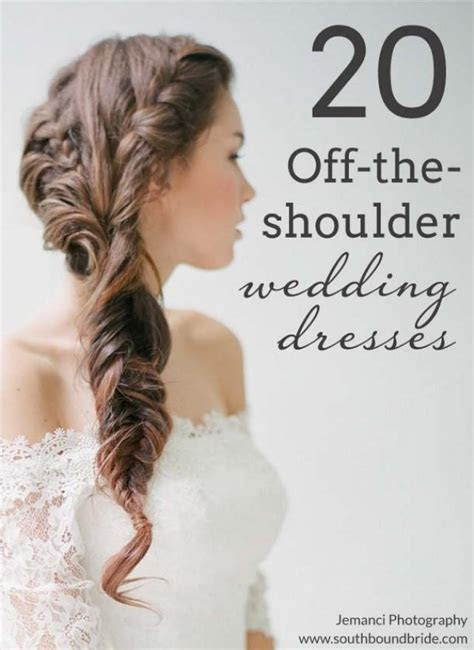 20 Off the Shoulder Wedding Dresses   Weddbook