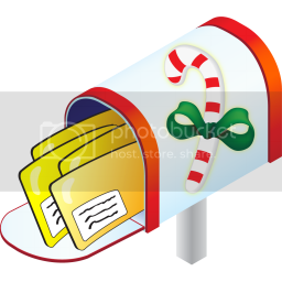 candycane mailbox