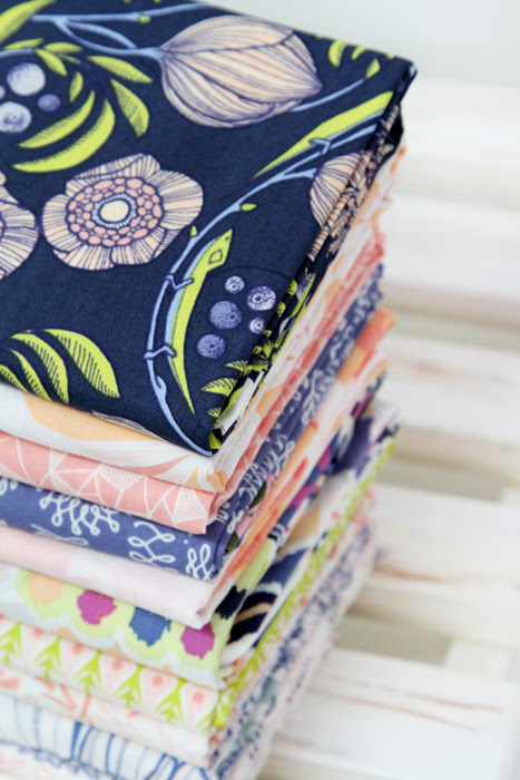 Luxe In Bloom Fabric Giveaway!