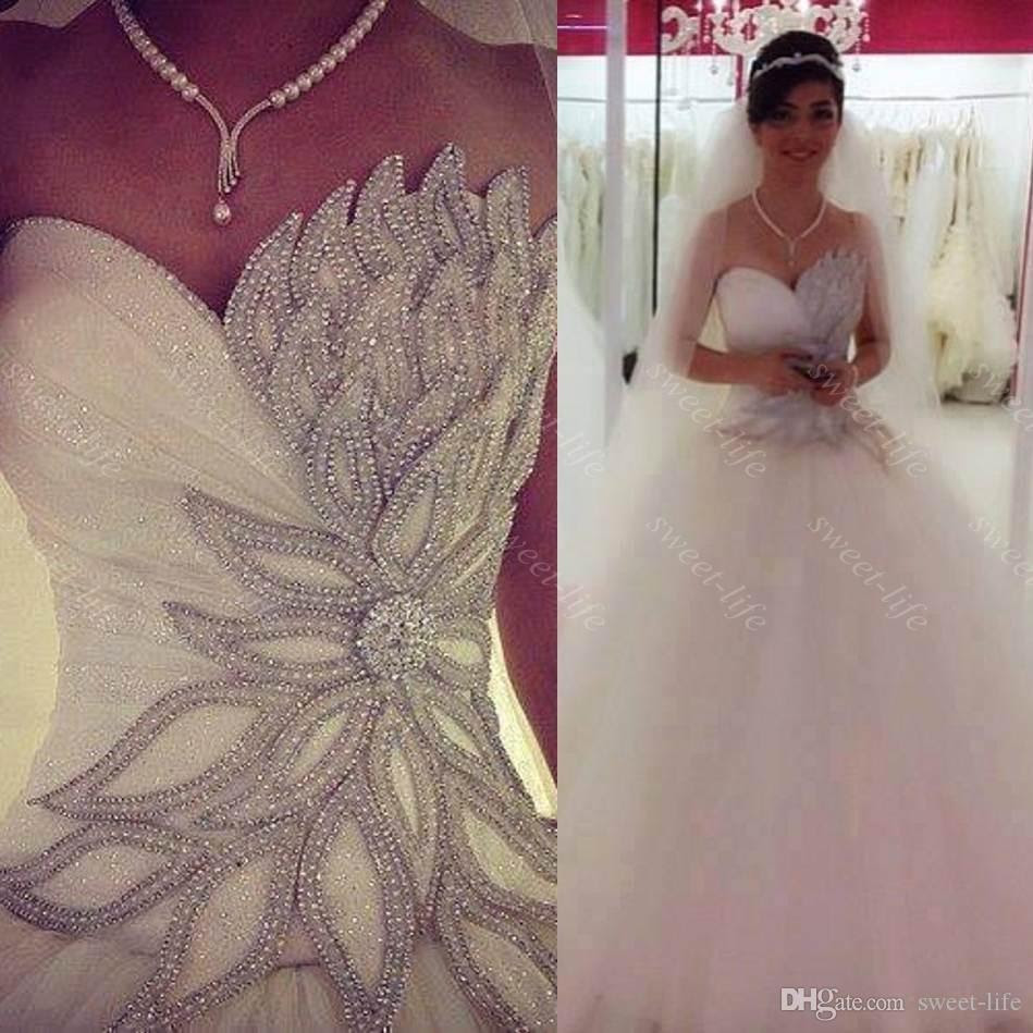 2016 sexy princess bling bling wedding dresses