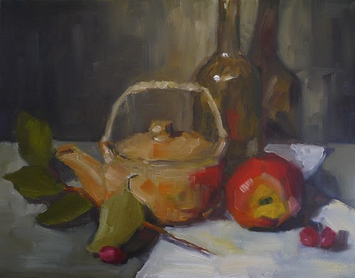 Apple and Teapot
