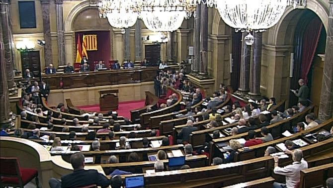 El ple del Parlament de Catalunya, aquest dimarts