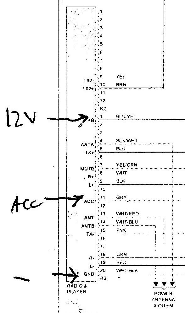 35 1997 Lexus Es300 Radio Wiring Diagram - Wiring Diagram List