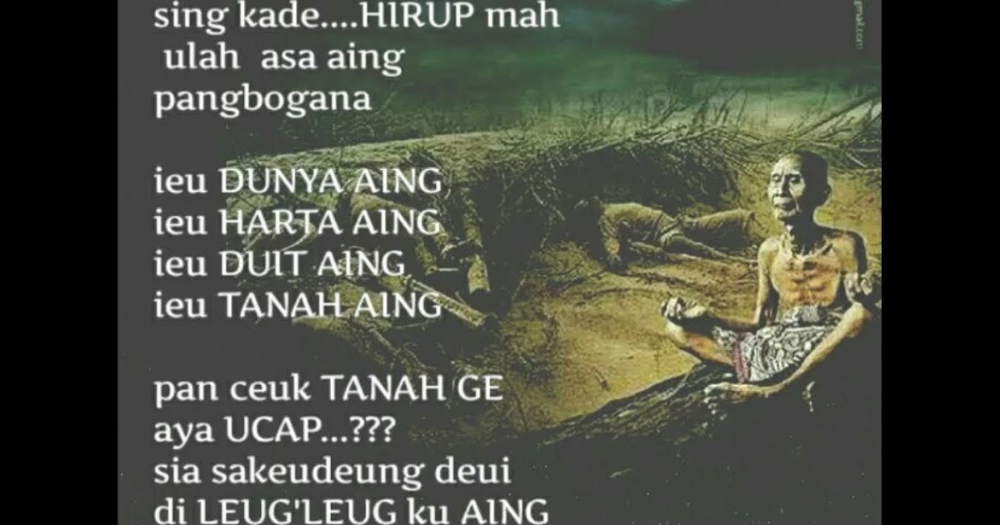 Kata Bijak Bahasa Sunda Dan Artinya   House Pdf