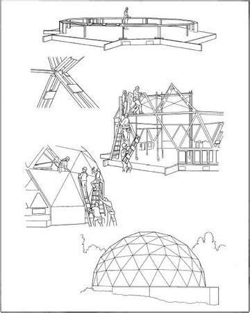 Building a geodesic dome. | Geodesic dome homes, Geodesic