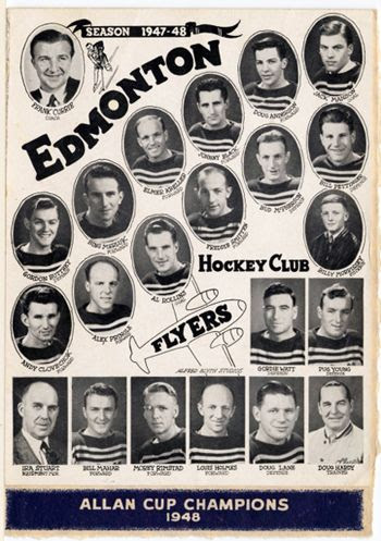 1948 Edmonton Flyers team, 1948 Edmonton Flyers team