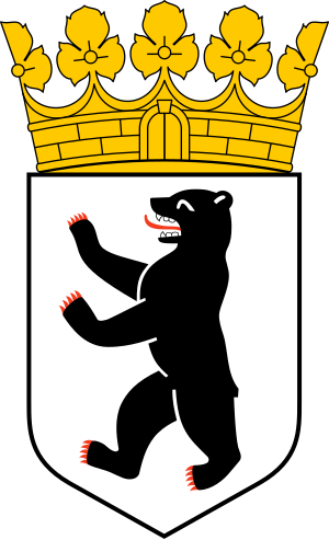 Coat of arms of Berlin. Español: Escudo de Ber...