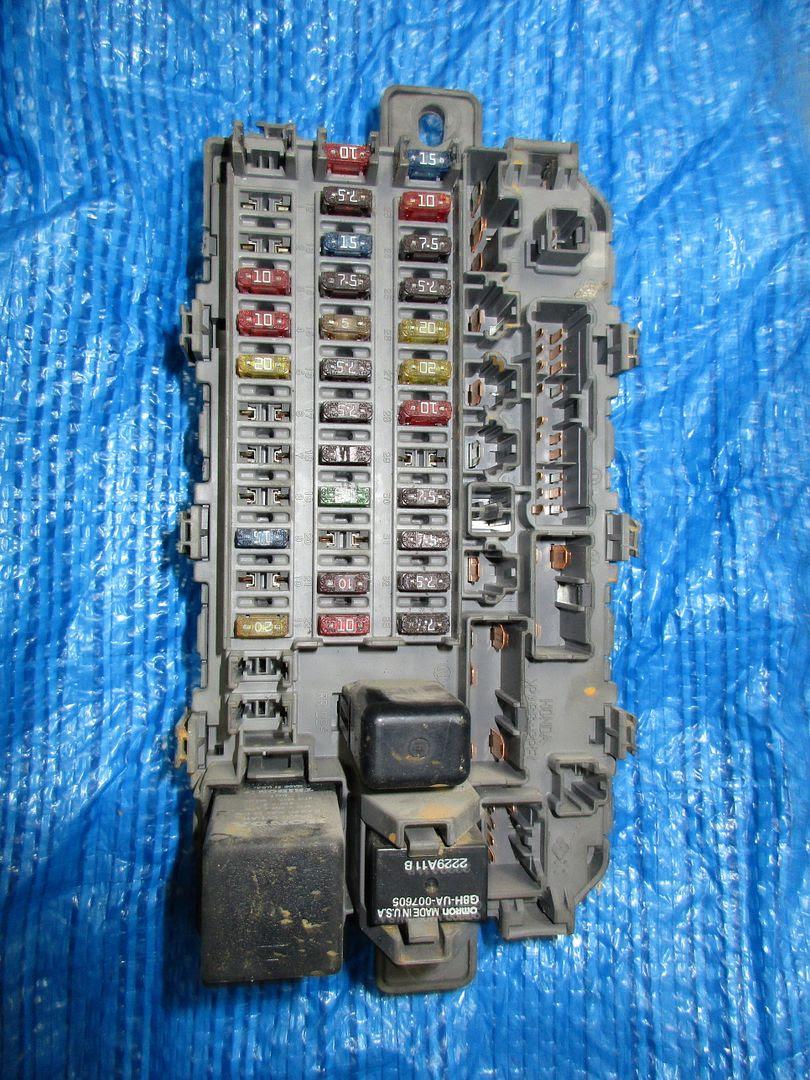 Civic Under Dash Fuse Box | schematic and wiring diagram