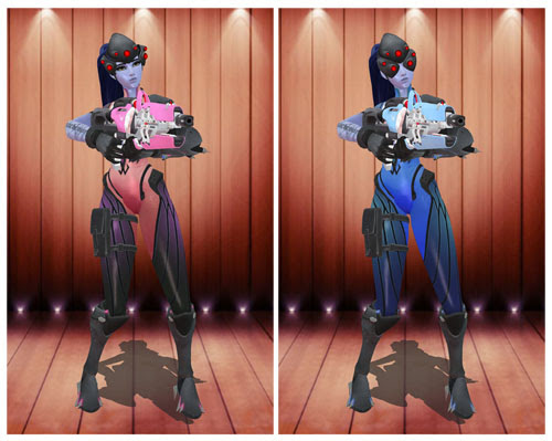Widowmaker Rare Skin