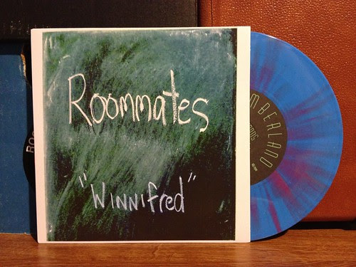 "Roommates - Winnifred 7"" - Blue w/ Purple Vinyl by Tim PopKid"