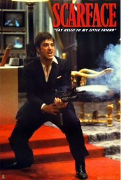 Scarface Say Hello To My Little Friend Flm00066 39x54 Global Prints