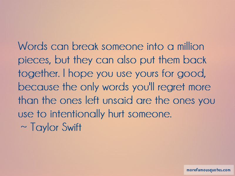 The Words Can Hurt Quotes Top 36 Quotes About The Words Can Hurt