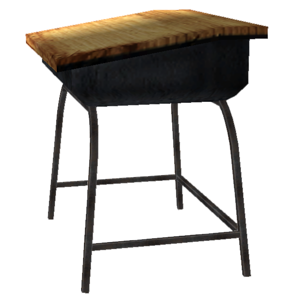 Image Crisp schooldesk png The Fallout wiki Fallout