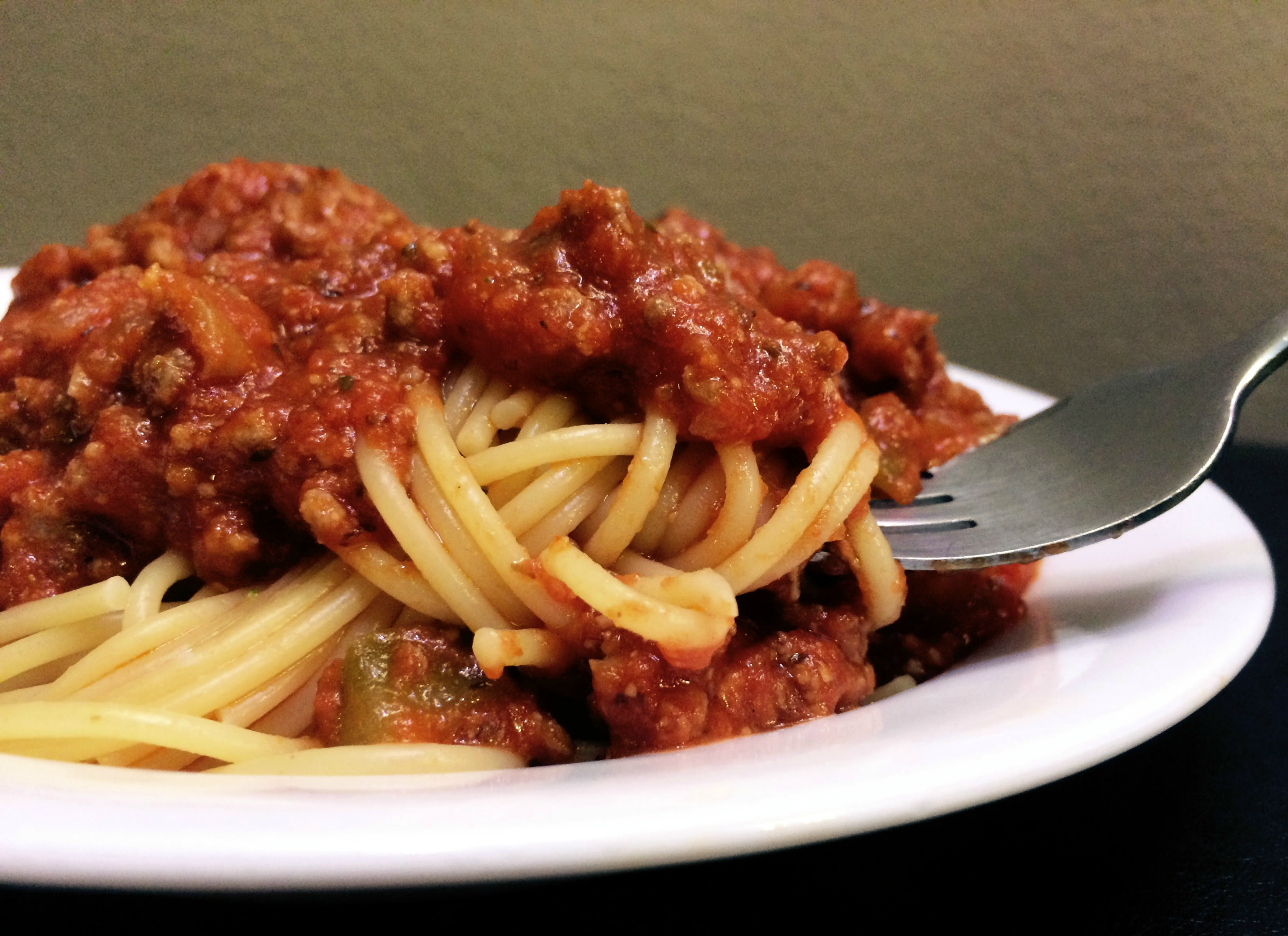 Spaghetti & Meat Sauce - Aunt Bee's Recipes