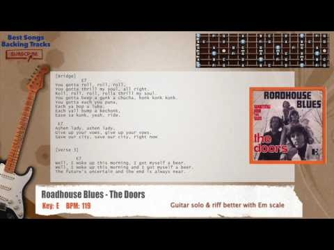 Best Songs Backing Tracks Bsbt Roadhouse Blues The Doors Guitar