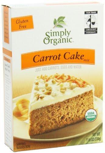 Simply Organic Carrot Cake Mix