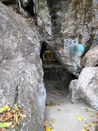 Cave at Nam Tok Sai Yok Noi