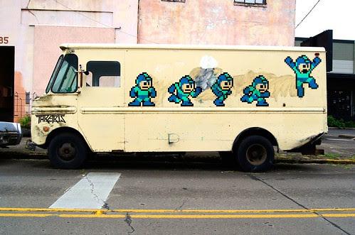 Pixel Life Canvas #001: Megavan by Thretris
