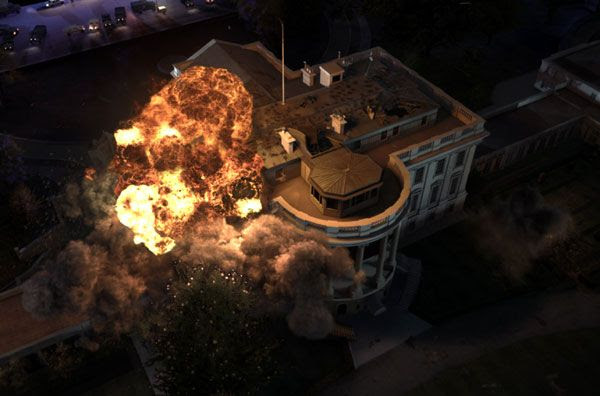 Rogue Korean commandos attack the White House in OLYMPUS HAS FALLEN.