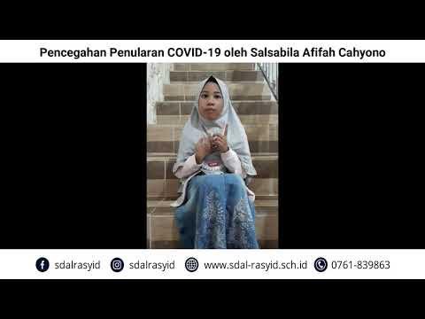 Pencegahan Penularan COVID 19 oleh Salsabila Afifah Cahyono
