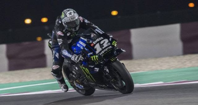 Maverick Vinales Monster Energy Yamaha