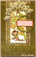 Wild Things Birthday card