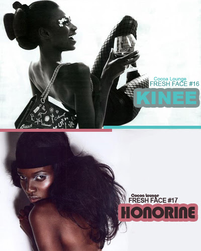 Fresh Face #16 - #17: Kinee Diouf and Honorine Uwera