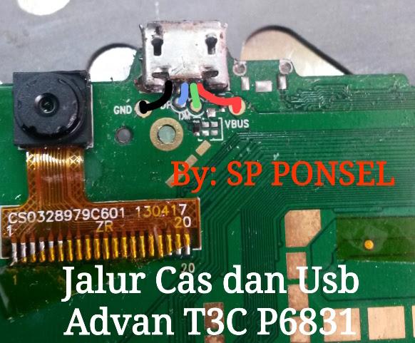 Harga Advan Vandroid T3C Charging Solution Jumper Problem Ways
