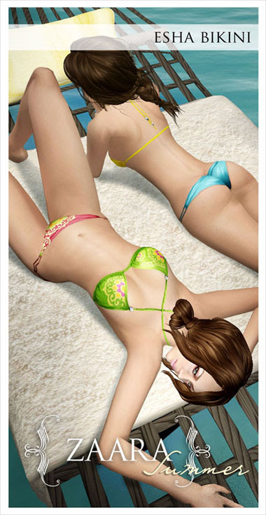 Zaara : Esha Bikini ad