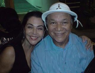 Guadalupe e Dominguinhos (Foto: Reprodução/ Facebook)
