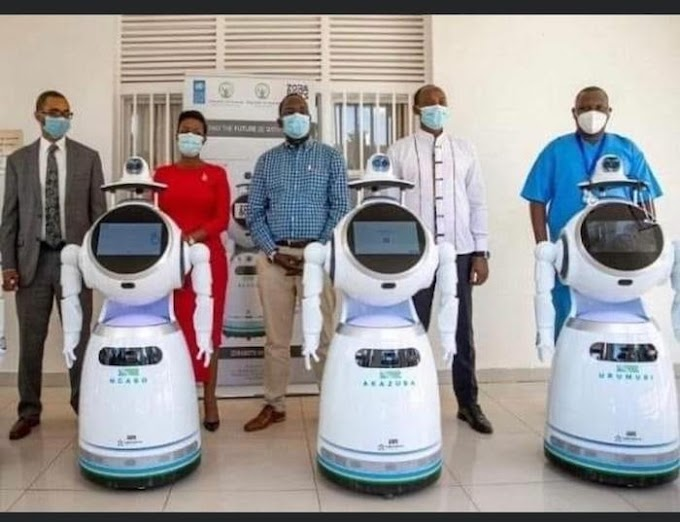 Rwanda Takes Delivery Of Robots That Can Test 150 People Per Minute