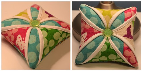 Cathedral Window Pincushion - partner would you like this one?