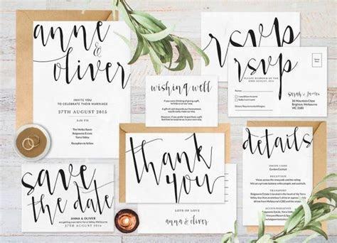Wedding Invitation Set, Wedding Invitation Printable