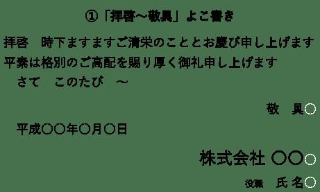 拝啓 敬具 記 の意味とビジネス文書での使い方 例文