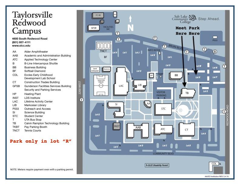 Time Zones Map Salt Lake Community College Redwood Campus Map