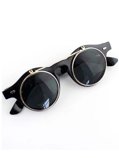 Black Double Layered Sunglasses pictures