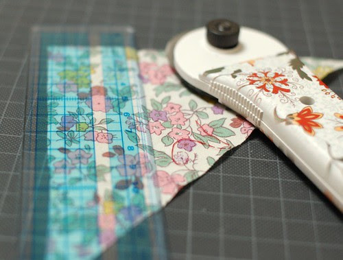 How to make a patchwork string 1