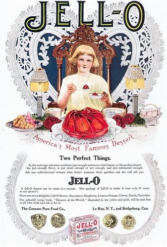 Jell-O ad, 1912