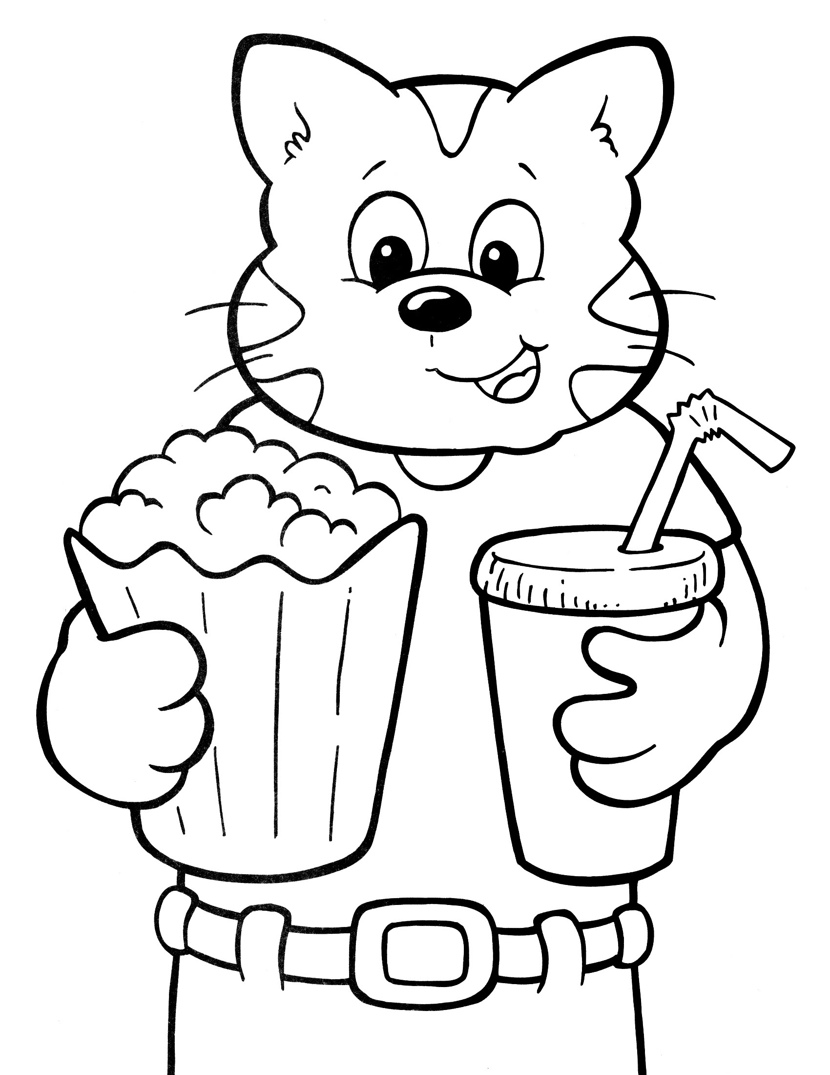 Crayola Coloring Pages for Kids – Learning Printable