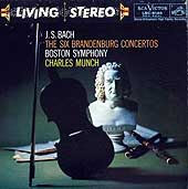 Charles Munch conducts the Boston Symphony Orchestra (RCA LP box set cover)