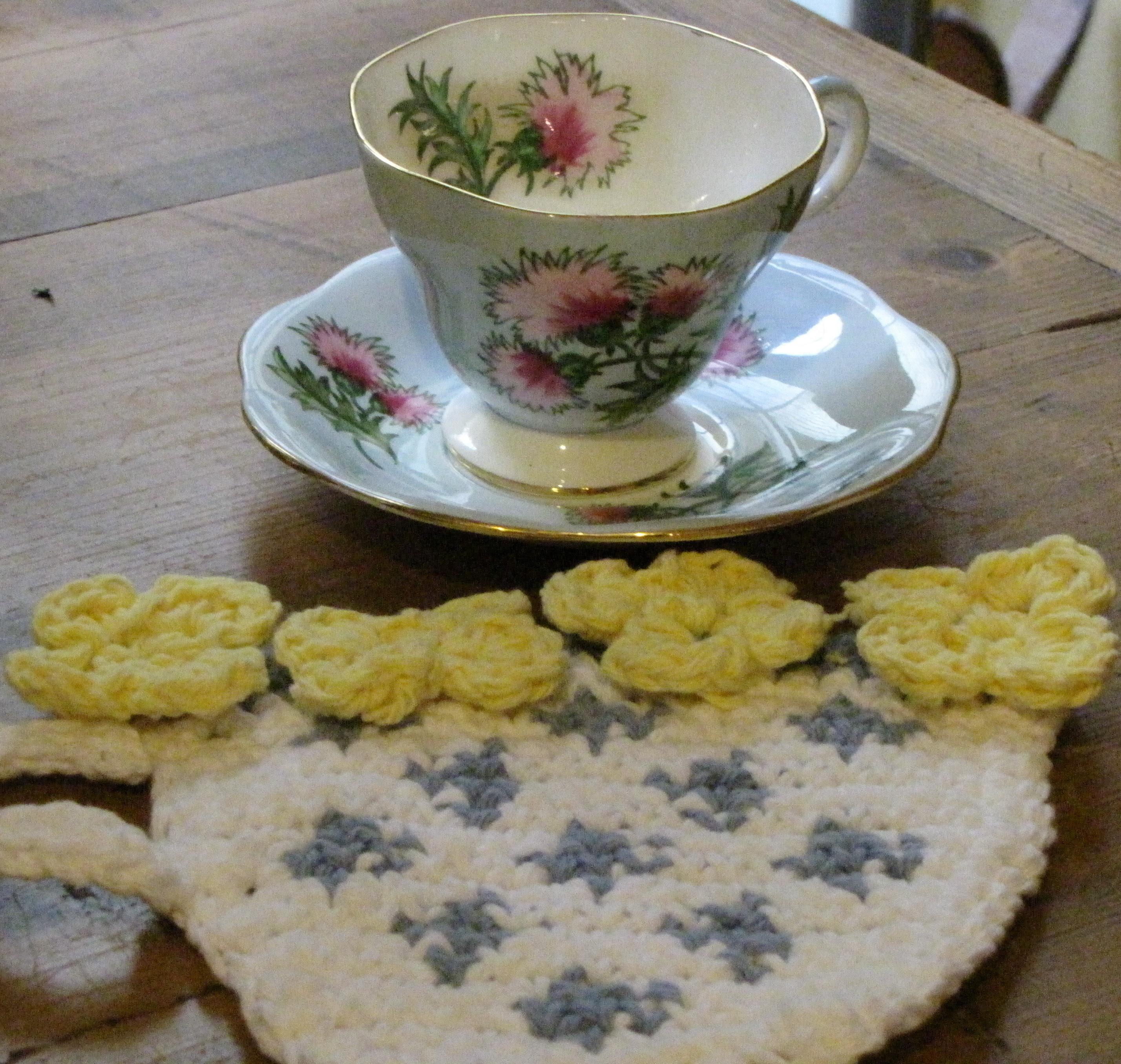 Glencarry Thistle Tea Cup