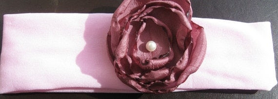 Garden Rose infant/toddler headband