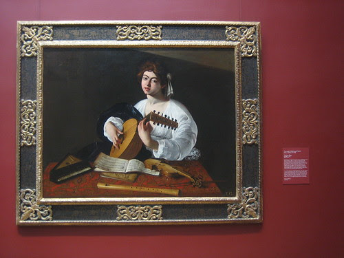 The Lute Player, probably c. 1597, Caravaggio (Michelangelo Merisi) _8345