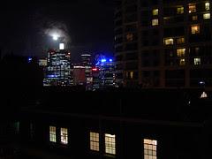 Windows under the moon