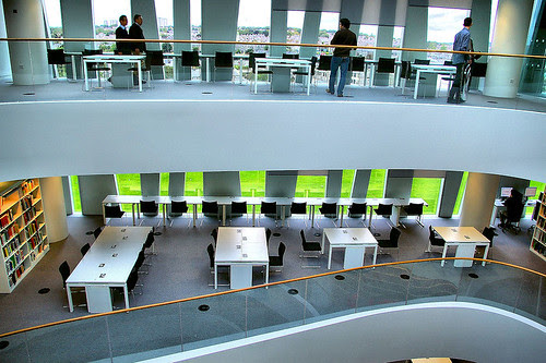 Aberdeen University New Library 4