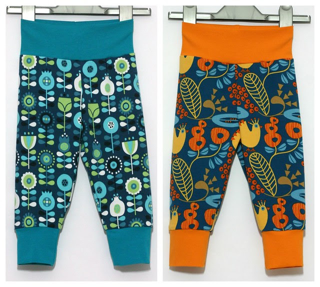 Scandi trouser collage