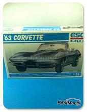 Maqueta de coche 1/25 SpotModel - Esci - Corvette 1963